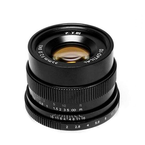 Superskarp 35mm F2 linse fra 7Artisans