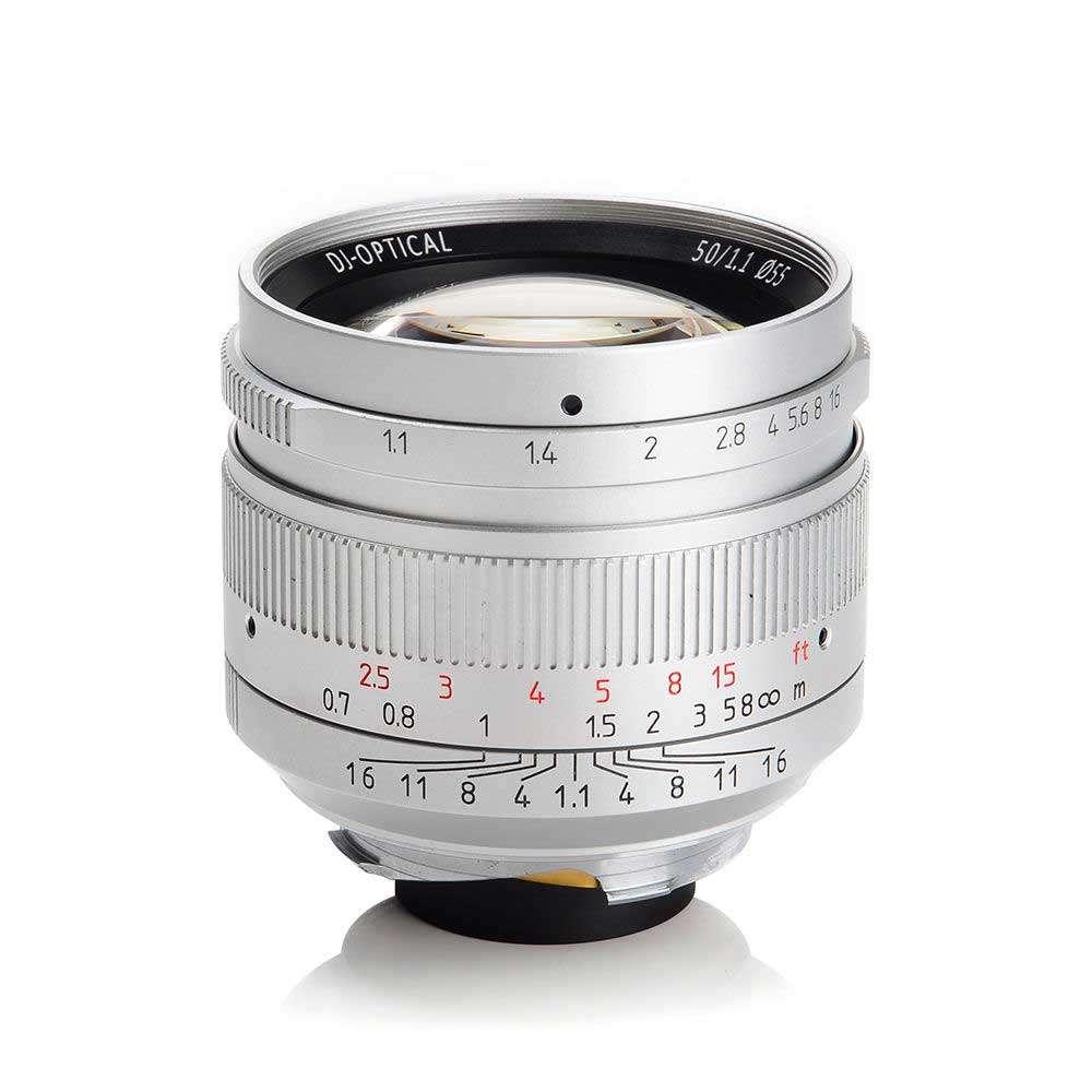 50mm leica m mouint 50mm f1.1 from 7artisans high end optics.