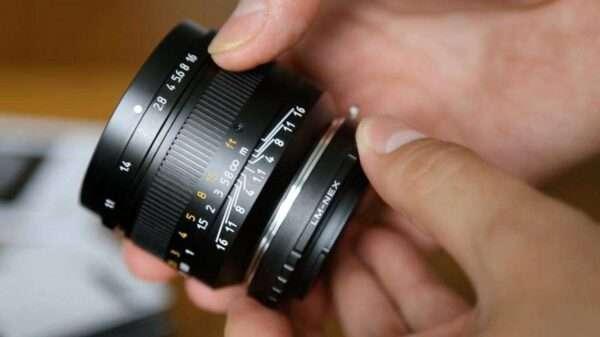 Leica M fullformat artisan 50mm F1.1 med nex adapter