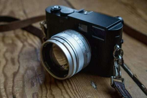 Leica M fullformat artisan 50mm F1.1 svart M10